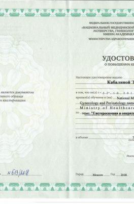 Кабалина Элла Петровна
