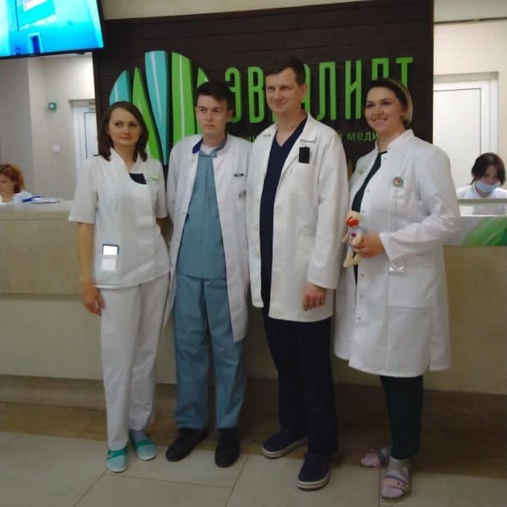 Нас посетил детский хирург Дмитрий Вячеславович Романов